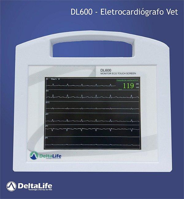 DL600 - Eletrocardiografo vet - DeltaLife