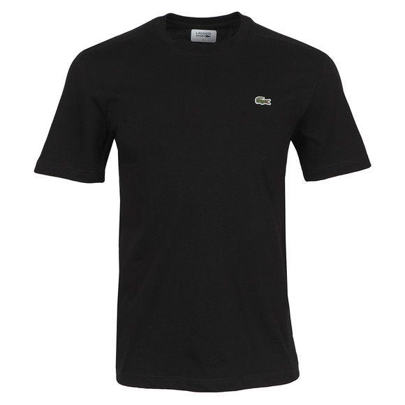 2f80121ddee24 Camiseta masculina manga curta 100% algodão básica Lacoste azul ...