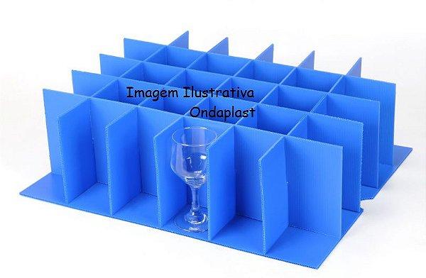 Divisória para Copos Diâmetro de 9 cm ( 18 copos)