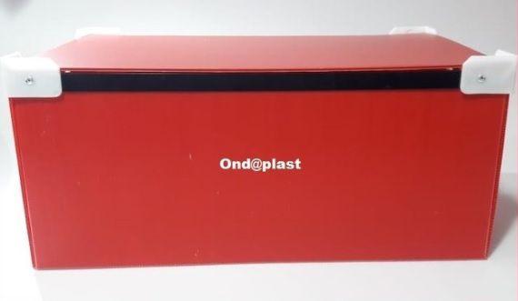 Caixa para Rechoud Retangular C 60 L 40 A 30 cm