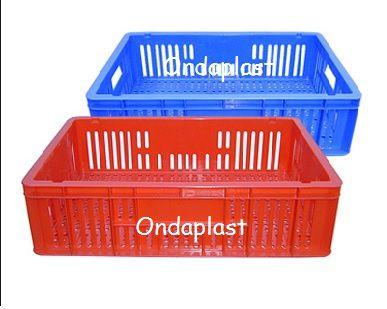 Caixa Plastica Baixa C 60 L 40 A 15 cm