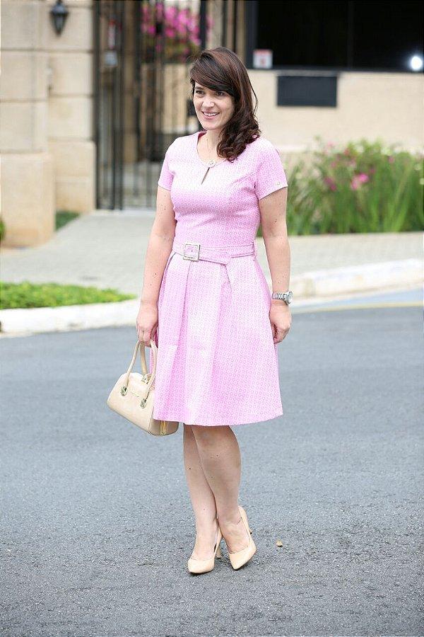 Vestido Antonella Rose - Moda Executiva Evangélica