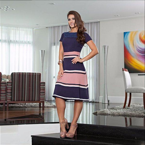 Vestido Kelly - Tamanho 42 - Moda Evangélica Executiva