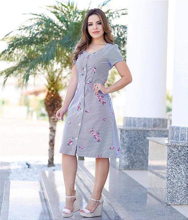 Vestido Monica - Moda Evangélica Executiva