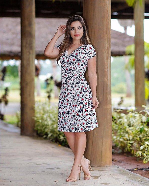 Vestido Paula - Moda Evangélica Executiva