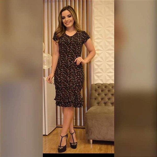 Vestido Vivi - Tamanho 42 - Moda Evangélica Executiva