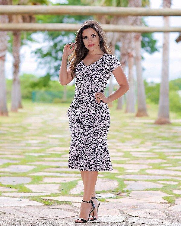 Vestido Débora - Moda Evangélica Executiva