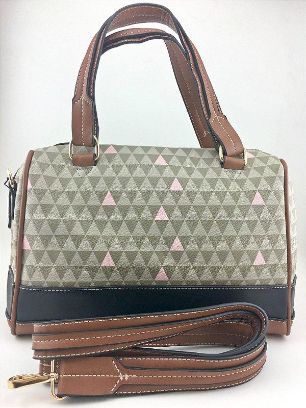 Bolsa inspired bowling triangle Bege da Schutz