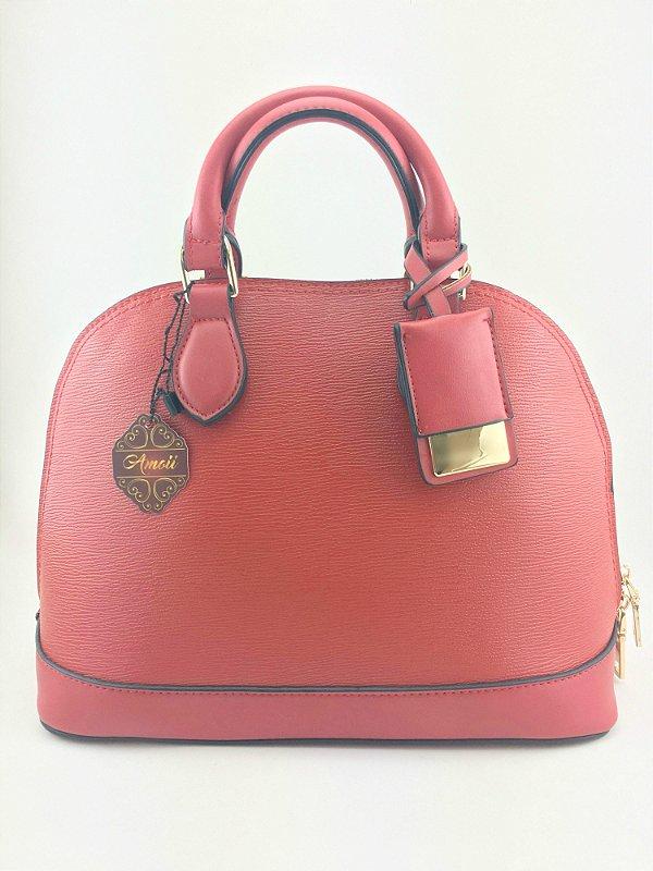 Bolsa inspired Louis Vuitton Alma bb vermelha