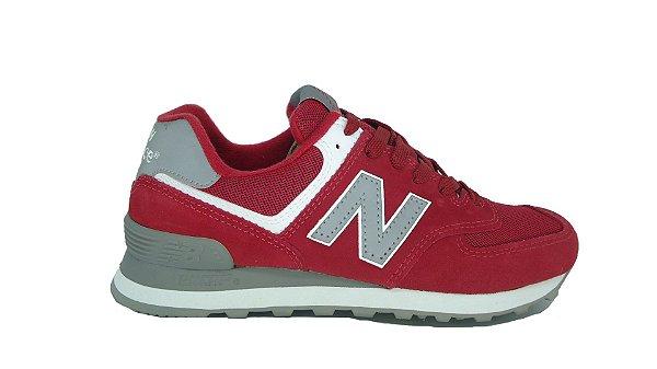 Tênis New Balance 574 Vermelho