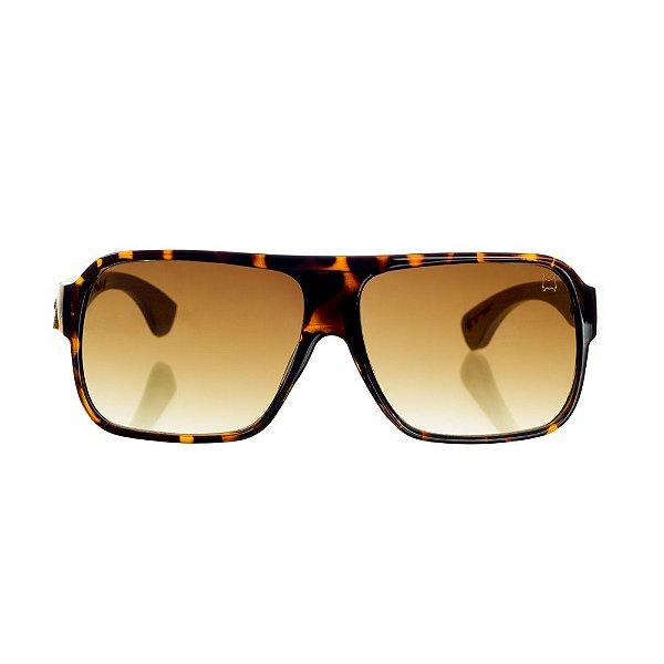 Óculos Woodlince Bamboo Dubai Tigrado