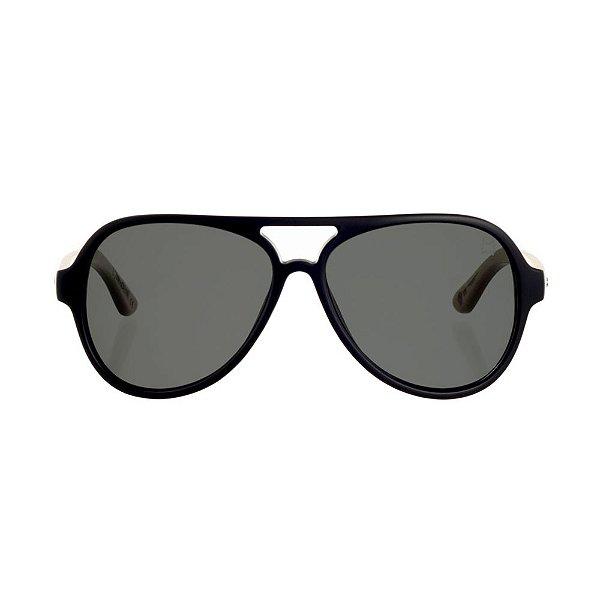 Óculos Woodlince Bamboo Maori Preto Fosco