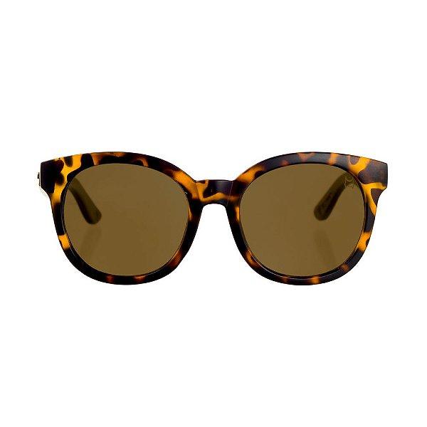 Óculos Woodlince Bambu Nicoly Tigrado - Woodlince Óculos de Sol 1f77622f6e