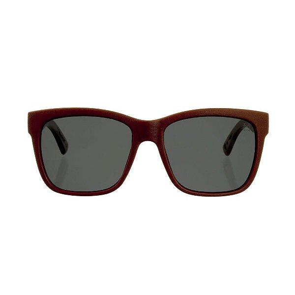 Óculos Woodlince Bamboo Lótus Marrom Claro