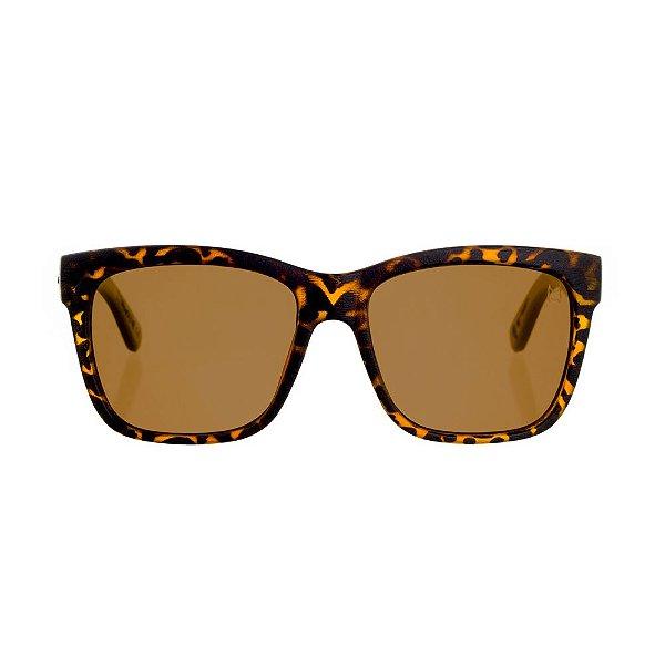 Óculos Woodlince Bamboo Lótus Tigrado
