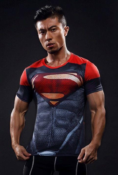 Camisa Camiseta Heróis Superman Red terra 2 - Compressão Térmica e ... 804479d1e6958