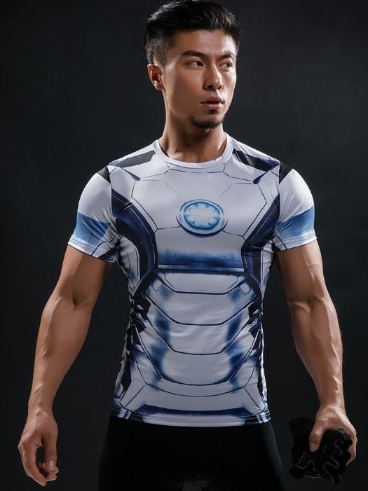 Camisa Homem de Ferro - Mod 3