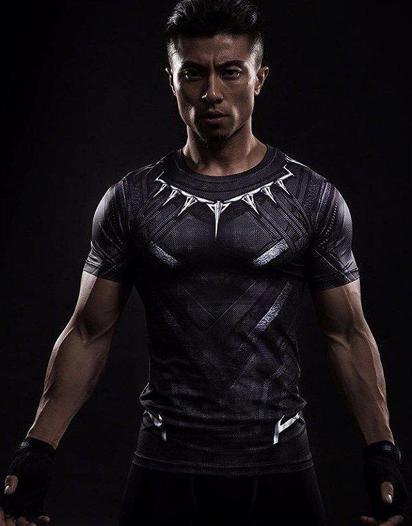 Camisa Pantera Negra Filme