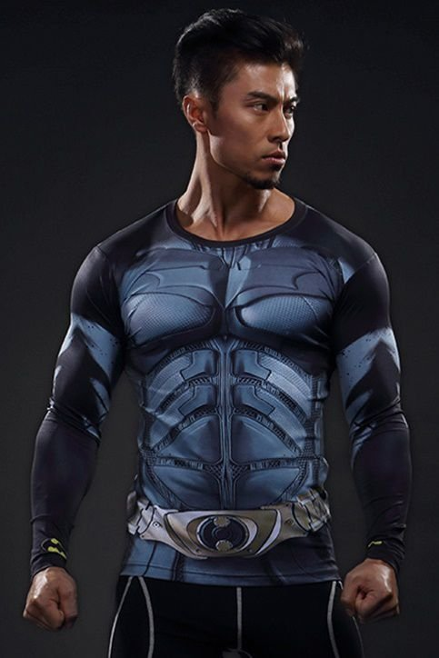 Camisa Batman O Cavaleiro das Trevas - Manga Longa