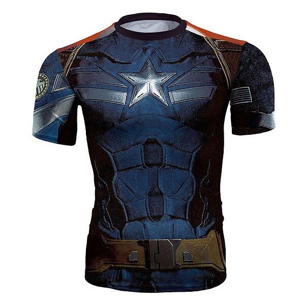 Camiseta Capitão América Vingadores