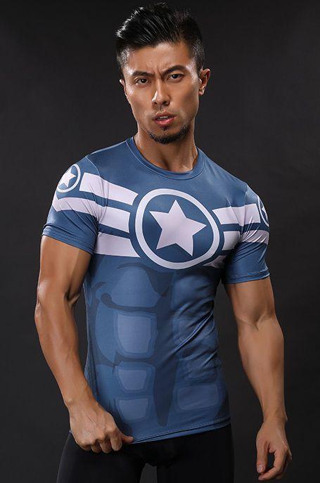 Camisa Capitão America 2018