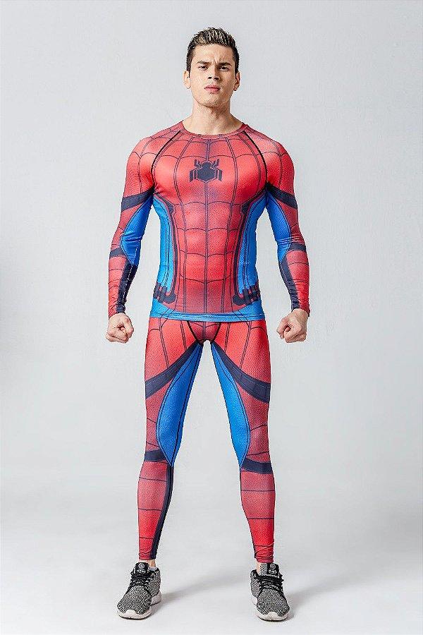 Conjunto Homem Aranha Spider Man