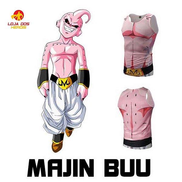 Camisa Majin Boo - Dragon Ball Z