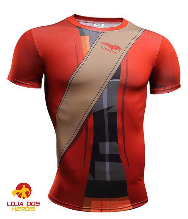 Camisa Naruto Uzumaki - Modo Sennin