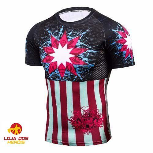 Camisa Capitão América Edição Especial