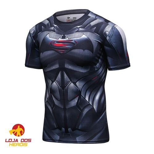 Camisa Batman VS Superman