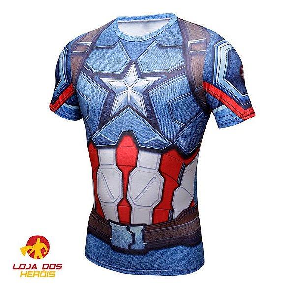 Camisa Capitão América Clássico