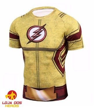 Camisa Kid Flash - Série
