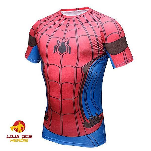 Camisa Homem Aranha - De Volta Ao Lar