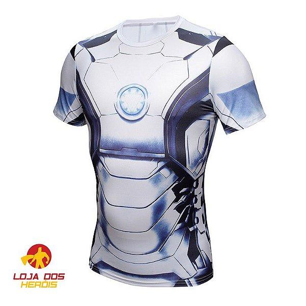 Camisa Homem De Ferro - Mark I Manga Curta Compressão Térmica e 3D ... d3290c63a2da7