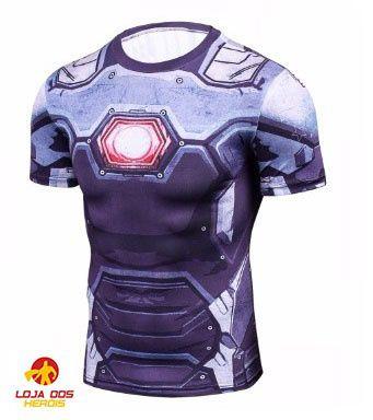 Camisa Máquina De Combate - Os Vingadores - Guerra Infinita