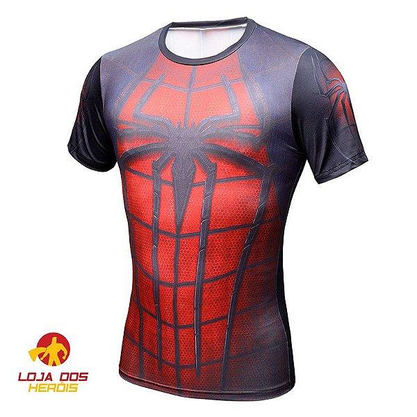 Camisa Compressão Spider Man