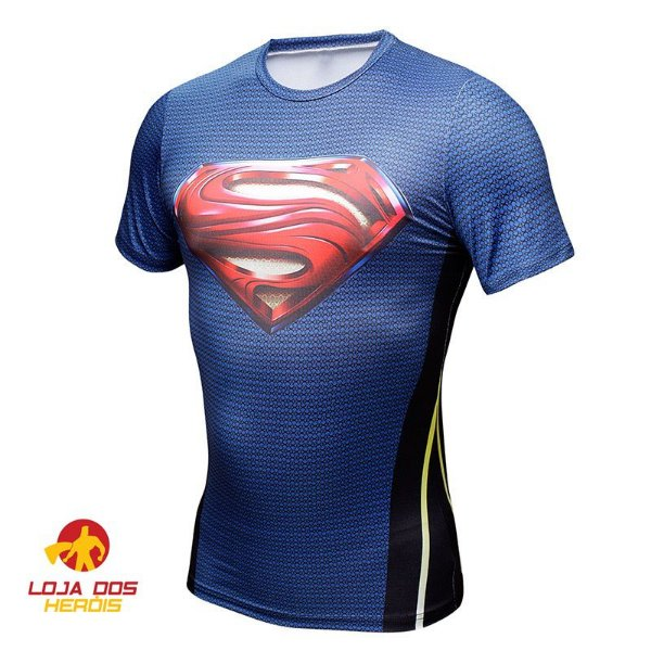 Camisa Superman - Man Of Steel