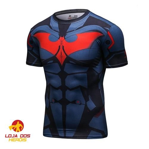 Camisa Batman Do Futuro - Modelo II