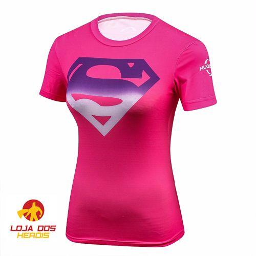 Superman Pink - Feminina