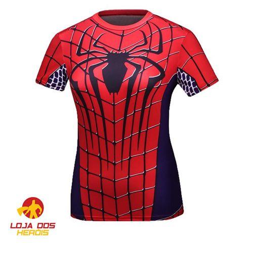 Homem Aranha - Feminina