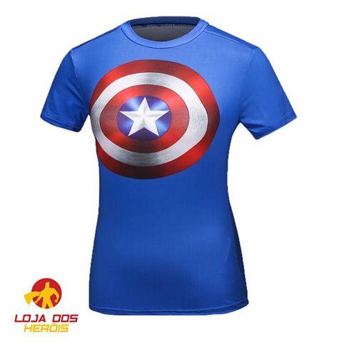 Capitão América Clássica II - Feminina