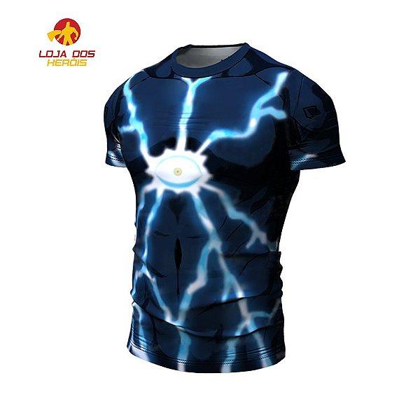 Camisa Lord Boros One Punch Man Curta