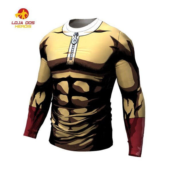 Camisa Saitama One Punch Man Anime