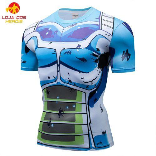 Camisa Vegeta SSJ Blue - Dragon Ball Super