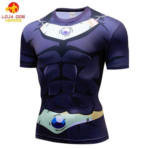 Camisa Broly - Dragon Ball Super