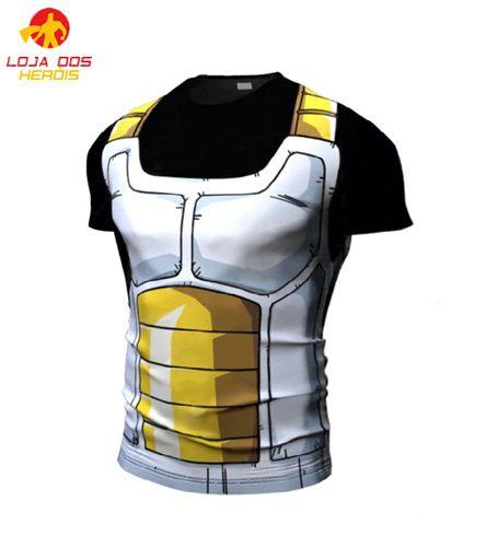 Camisa Treino Sayajin Preto