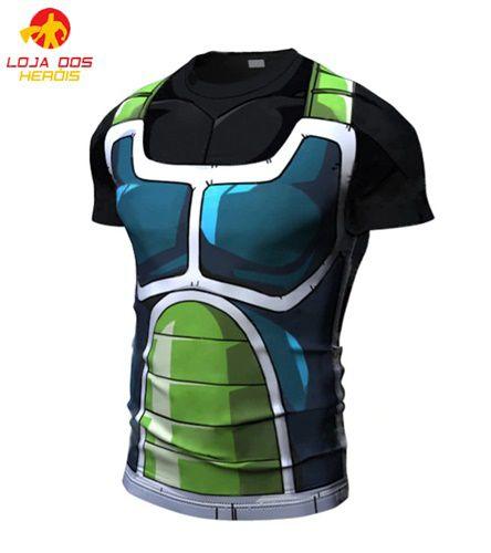 Camisa Treino Sayajin Verde