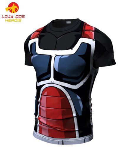 Camisa Treino Sayajin Marrom
