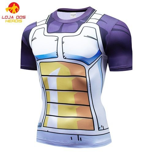 Camisa Treino Sayajin - Dragon Ball Super