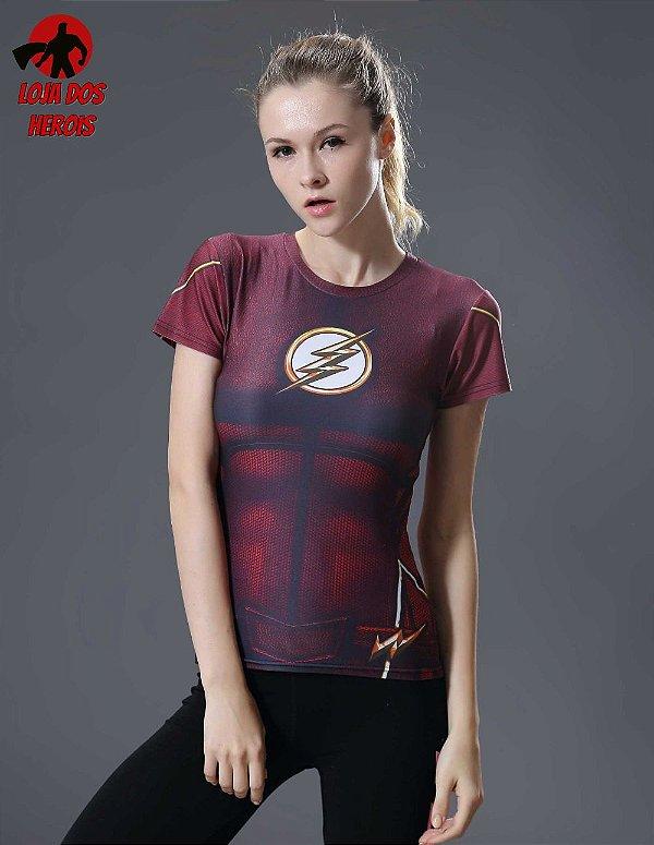 Camisa Feminina Flash - Série